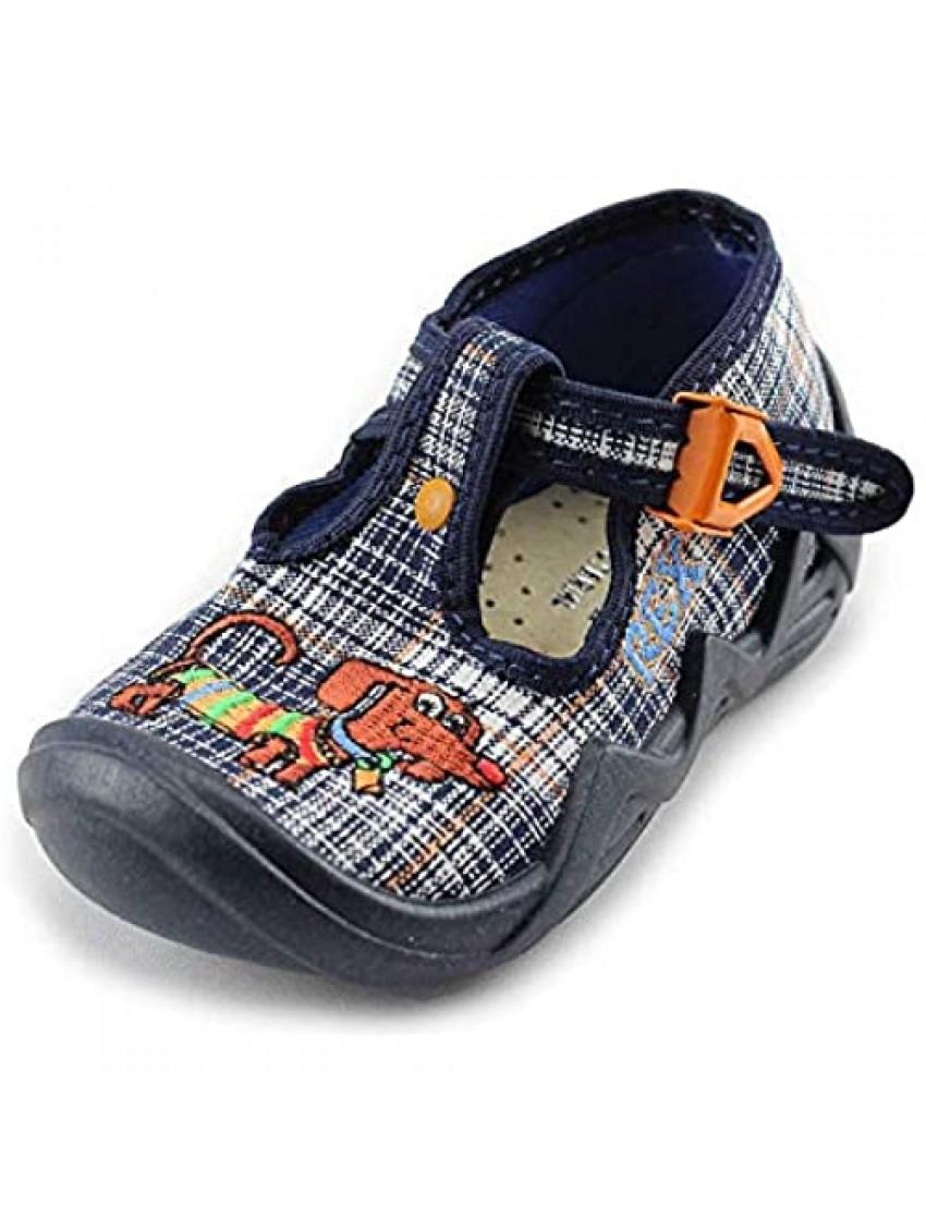 Kornecki Boys Canvas Shoes/Loafer/Slip on Made in Poland (Toddler)