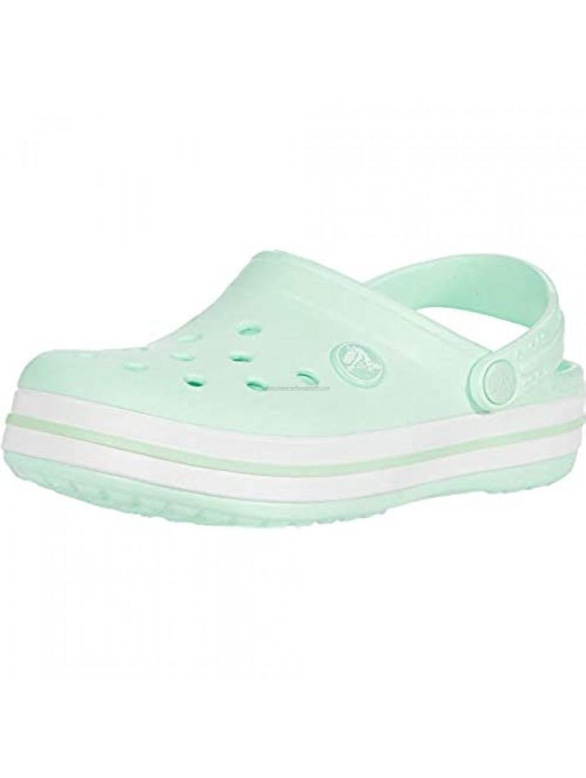 Crocs Baby Kids' Crocband Clog  Neo Mint  C9 M US Children